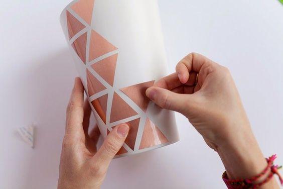 #Deko #kupfer #DIY #Dreiecke #Home ähnliche tolle Projekte und Ideen wie im Bild vorgestellt werdenb findest du auch in unserem Magazin . Wir freuen uns auf deinen Besuch. Liebe Grüße Mimi