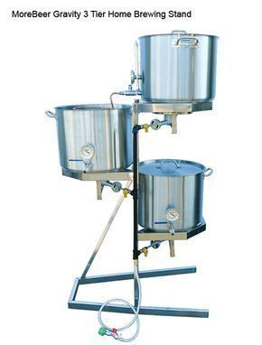 Home Brewing Stand Http Www Westcoastbrewer Com Brewersblog Home Brewing Equipment Ready Made Home Brew Home Brewing Equipment Home Brewery Home Brewing Beer