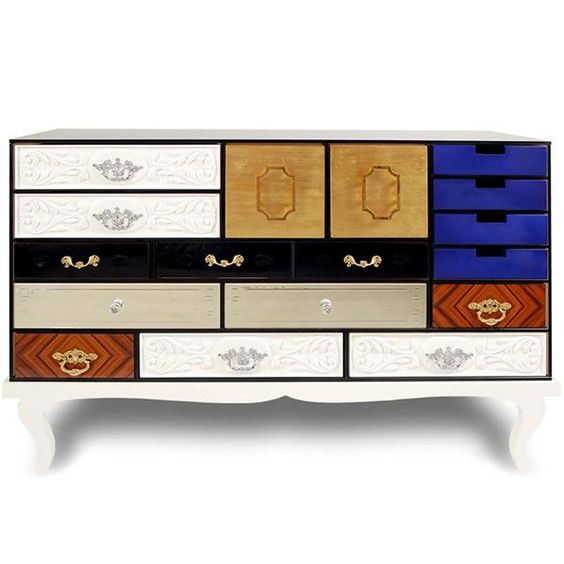 Soho Drawers Furniture Design by Bocadolobo