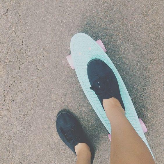 """@idaandu's photo: """"Concrete • #potd #penny #pennyboard #skateboard #skate"""""""