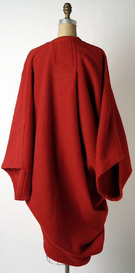 Issey Miyake Coat - 1985... My favorite coat for years, I must make again from the Vogue pattern.