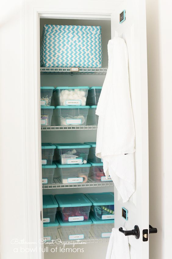 Excellent Tutorial On How To Clean Out And Organize Your Bathroom Closet From Top To Bottom From