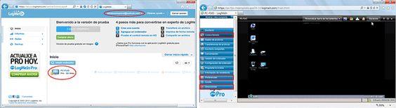 Utilizar LogMeIn para usar PCs a distancia mediante el escritorio remoto.