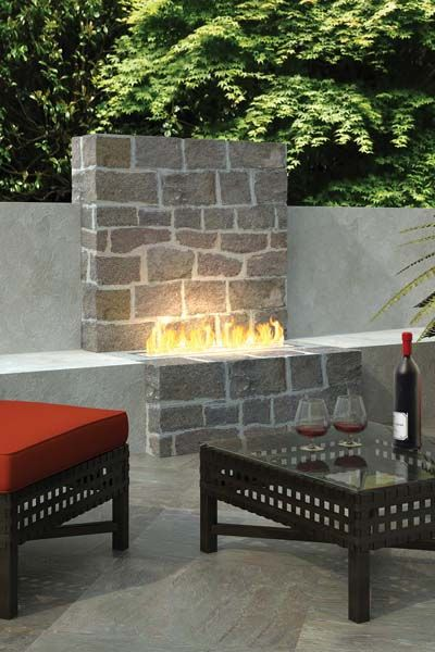 Plateau Pto30 Outdoor Gas Burner In 2020 Outdoor Gas Fireplace Gas Fireplace Outdoor Living Areas