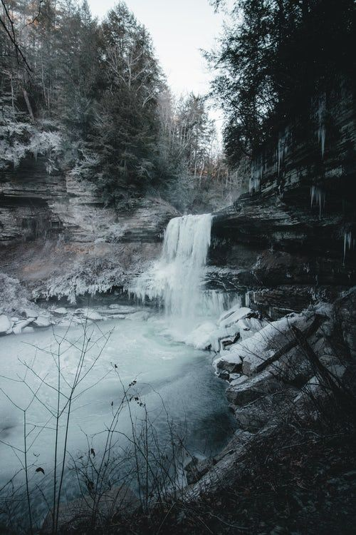 Waterfalls During Daytime Nature Aesthetic Nature Nature Photography
