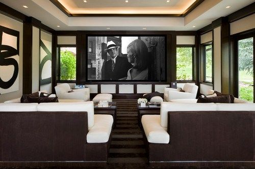 15 Beautiful Home Theater Design Ideas & The Technology To Make It Happen | Dig This Design