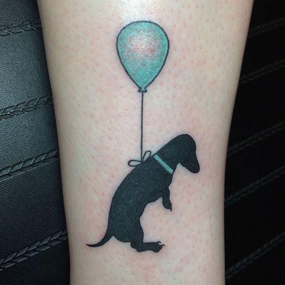 Precious dog tattoo