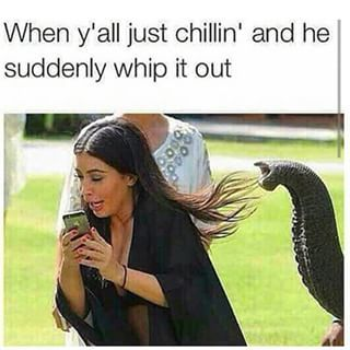 For when your man gets too cocky: | 23 Kardashian Memes That Hilariously Describe Your Life