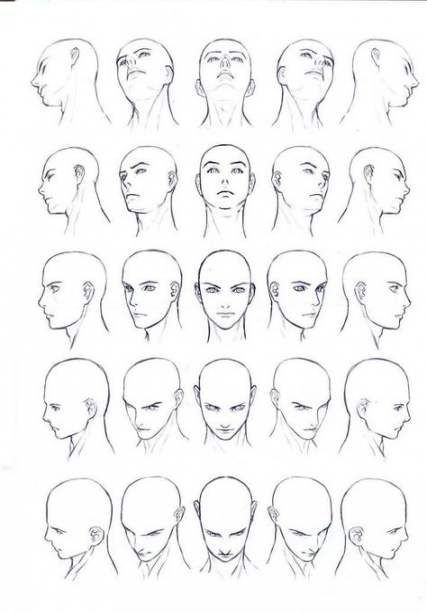 Drawing Reference Face Angles Anime 24 Ideas Face Angles Body Drawing Human Body Drawing