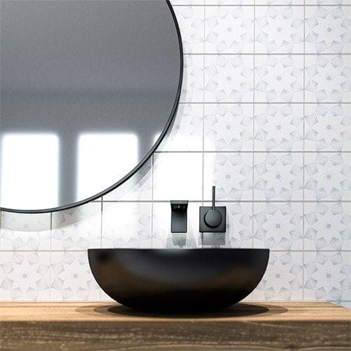 Grey Diamonds Glossy Ceramic Tiles 6x6 Country Floors Of America Llc In 2020 Ceramic Tiles Ceramic Wall Tiles Tile Floor Living Room