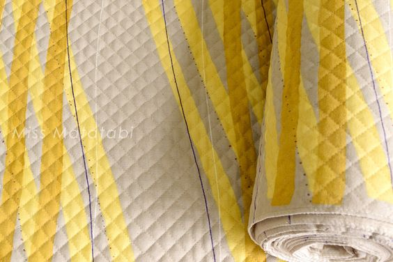 Japanese Fabric Nani Iro Free Way AW quilted brushed cotton - A - 50cm by MissMatatabi on Etsy https://www.etsy.com/listing/250731706/japanese-fabric-nani-iro-free-way-aw