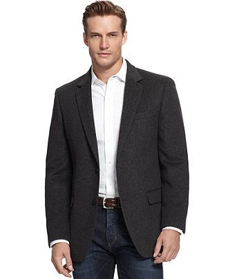 A casual blazer-Michael by Michael Kors Jacket Solid Camel Hair