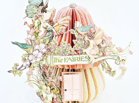 How to Create a Mushroom Fairy House by Joanne Bain