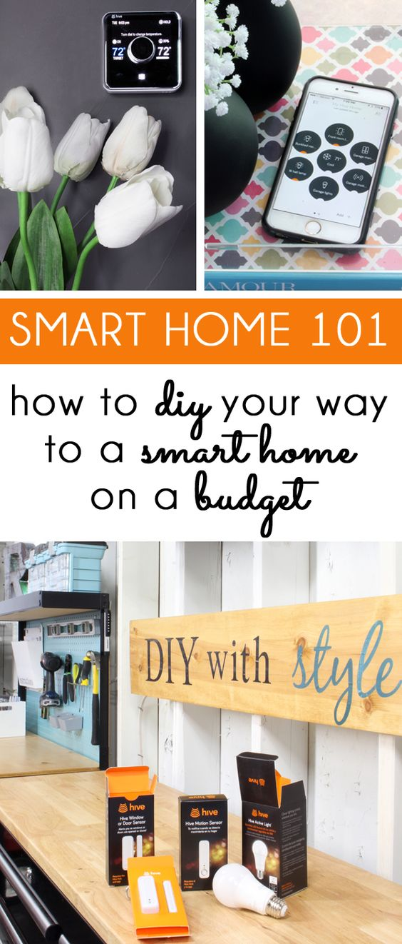 Turning your house into a smart home is easier and more affordable than you think! A smart thermostat, light bulbs, door sensors, motion detectors, smart plugs, and more that you can program and control from an app on a smart phone or tablet. You can self-install all of the components in just a few minutes each, and integrate them together to create a smart home ecosystem using products from Hive. #ad #LetsGetLiving