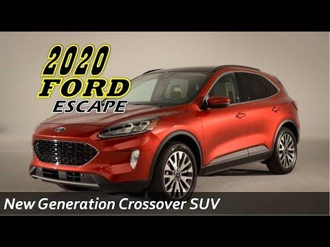 2020 Ford Escape Plug In Hybrid Youtube