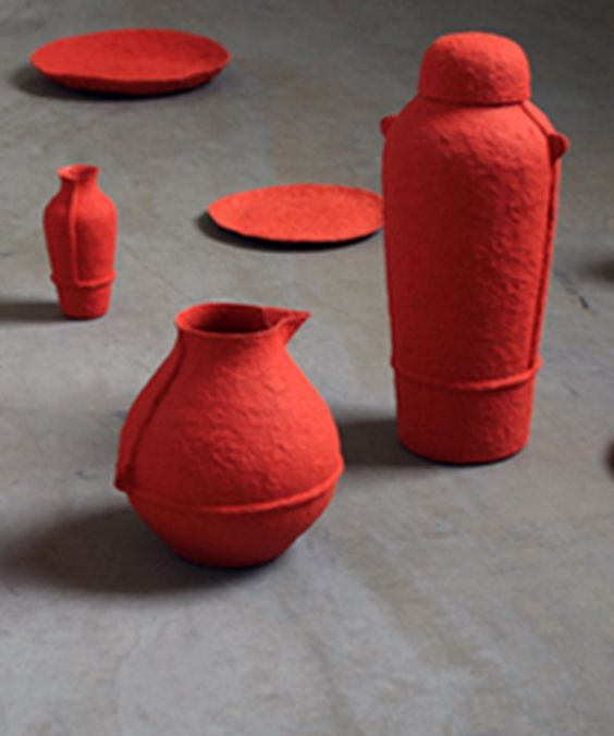 Debbie Wijskamp | Paper Pulp Products | Sustainable Design |