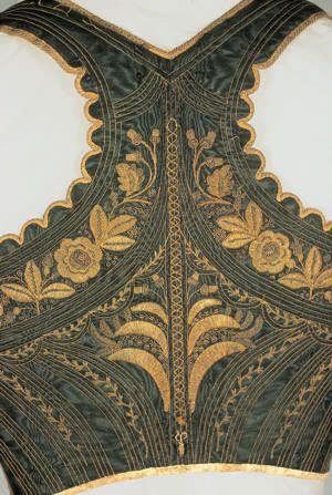 Schnürmieder 1840/50 bis 2. Hälfte 19. Jahrhundert Unterpeiching