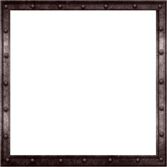 feli_btd_metal frame.png ❤ liked on Polyvore featuring frames, borders and picture frame