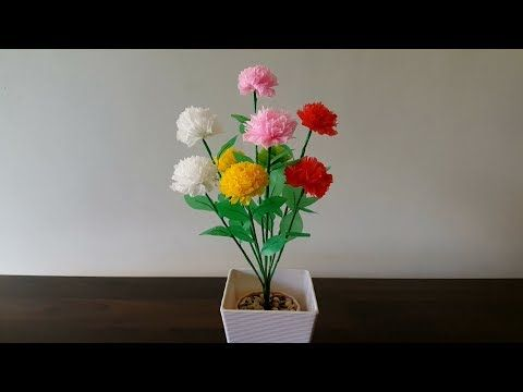 Kreasi Bunga Dari Gelas Plastik Trik Idetrik Youtube