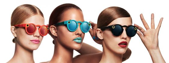 These are the three colors for Spectacles. Matching lipstick not included.: