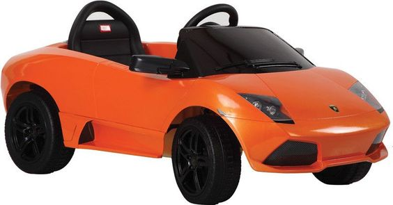 Vroom Rider VR81300-OR Lamborghini Murciélago LP 640-4 Rastar 6V - Battery Operated/Remote Controlled (Orange)