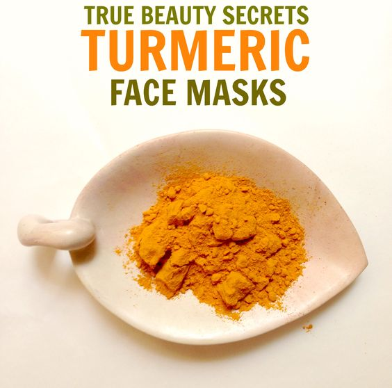 Face Mask Recipes: True Secret to Glowing Skin | Turmeric Face Mask ...