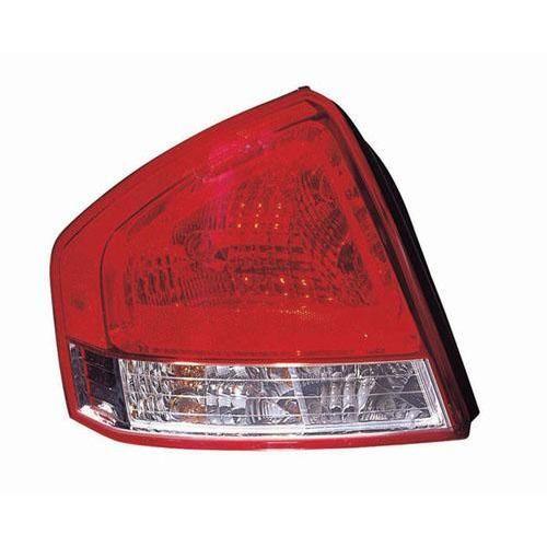 2007 2009 Kia Spectra Tail Lamp Lh In 2021 Tail Light Light Accessories Kia
