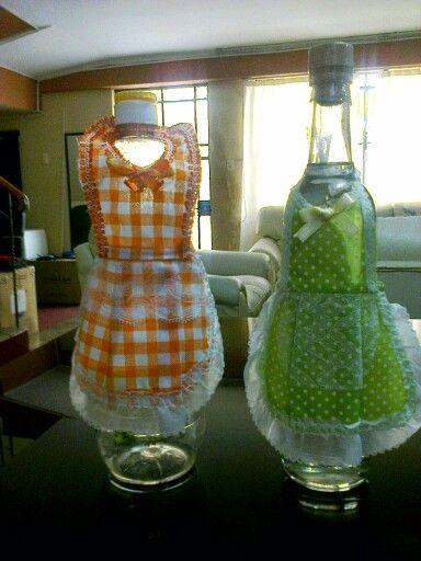 Vestidos para botellas