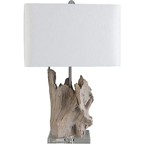 Ramsey Crystal Table Lamp Pale Brown Table Lamp Design White Table Lamp Driftwood Table
