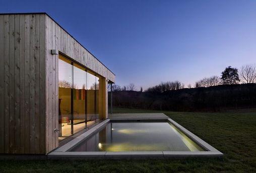 Captivating Weekend House In Buš, #CzechRepublic By Markéta Cajthamlová #interiors  #interiordesign #architecture Great Ideas