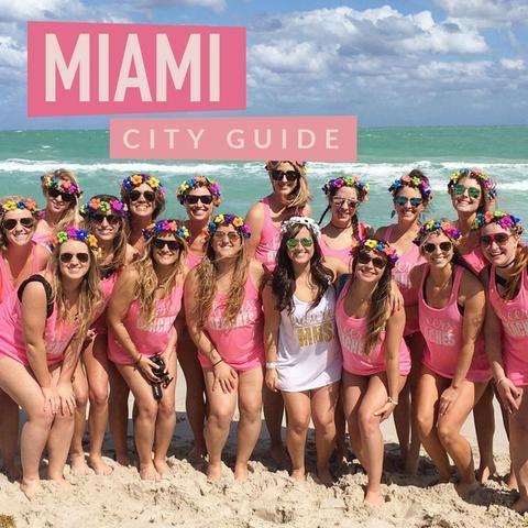 The Perfect Itinerary For A Miami Bachelorette Party Bachelorette Party Guide Bachelorette Party Destinations Bachelorette Party
