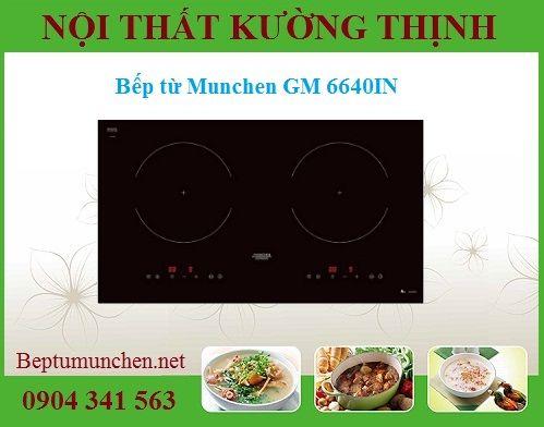 Những tính năng nổi bật trên bếp từ Munchen GM 6640IN