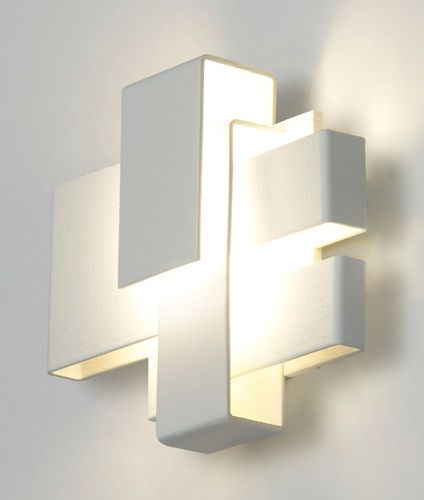 Original design wall light / chrome / stainless steel / LED ARZY ...