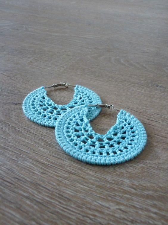 Nice crochet earring