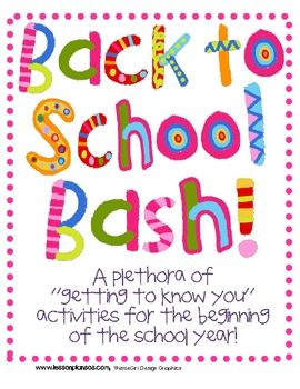 The Back to School Bash includes a little bit of everything that you may need for a successful start to a new school year! -Let's get acquiante...