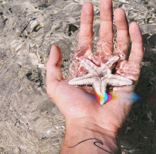 #mão #tatoo #onda