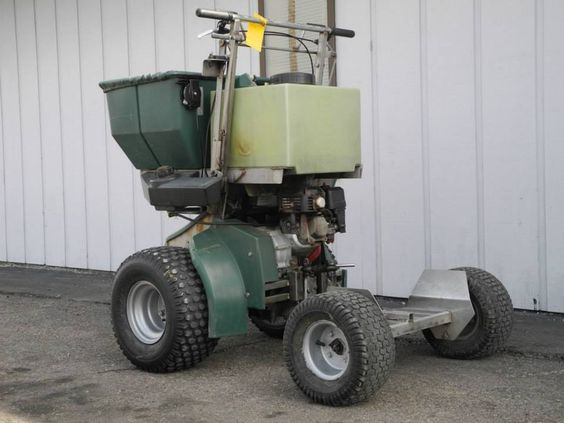 This 2004 PermaGreen Magnum ride-on spreader/sprayer has a newer engine & transmission, has been recently serviced, and is ready for work today for only $2790. See more at: http://www.powerequipmentsolutions.com/products-a-services/online-store/lawn-landscape-a-outdoor-power-equipment/2004-permagreen-magnum-ride-on-spreader-sprayer.html  #PermaGreen #Magnum #lawncare #PES #Vandalia