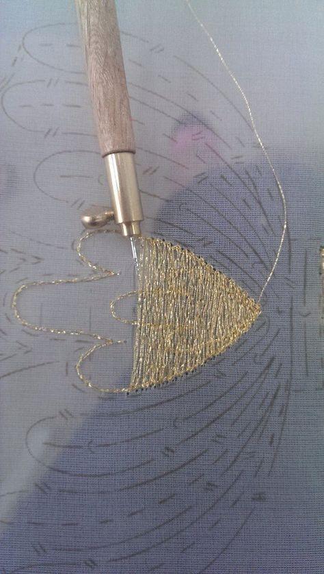 Favorito Oltre 25 fantastiche idee su Ricamo uncinetto luneville su  WF35