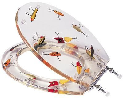 fishing lures | fish lure toilet seat fishing toilet seat with, Hard Baits