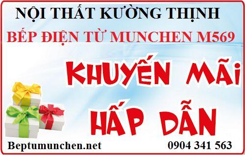 Khuyến mại lớn có 1 không 2 khi mua bếp điện từ Munchen M569