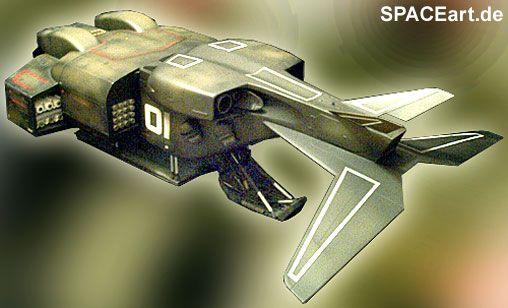 Alien 2: Dropship, Modell-Bausatz ... http://spaceart.de/produkte/al114.php