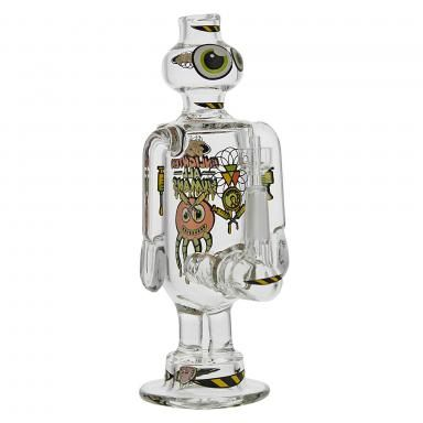 Here They Are! Jerome Baker Design Presents the BOX SERIES - The HUMAN ENLIGHTEN BOT. Equipped wiith. Quatrz Domesless 10mm Nail Included. Operate this Bot and Let the Wisdom Flow and Enlightenment Begin. Great Piece to Share with Friends. #REPJBD