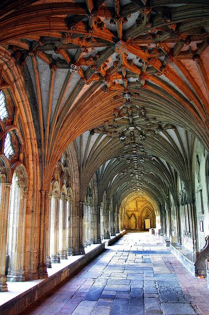 Canterbury Cathedral, Kent. This is where St. Thomas Becket is buried. He was killed by King Henry II's Knights, when they missinterpreted what Henry had said. Thomas was murdered in this Cathedral, where he had been Archbishop of Canterbury.