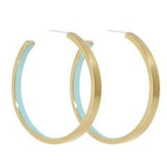 Inner Beauty Hoop Earring