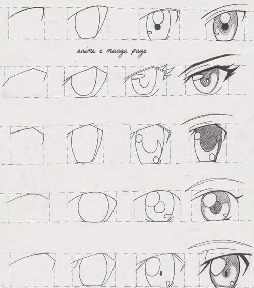 How to draw anime & manga tutorials animeoutline.