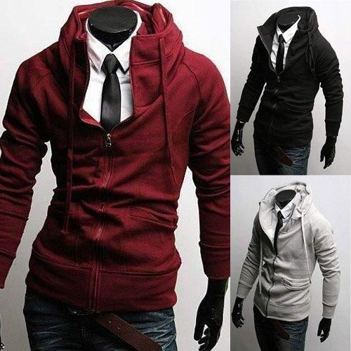 Wish | Men's Fitted Hoodies SO hot!! I can totally see bren in ...