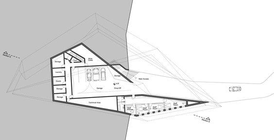 Zaha Hadid Design Concepts And Theory concept villas for golf and spa resort, dubrovnik,zaha hadid