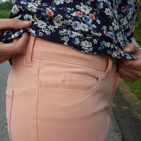 Mein Post zu meiner zweiten #gingerjeans ist seid heute im Blog. Ich liebe diesen Schnitt einfach. #sewing #handmadefashion #handmadewardrobe #sew #handmadecloset @closetcasefiles #stoffundstil @stoffstil #closetcasepatterns