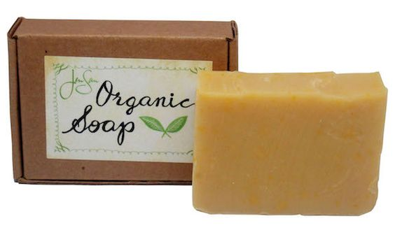 Lemongrass Organic Shea Butter Soap | Natural Organic Soaps and Candles | JenSan Home and Body