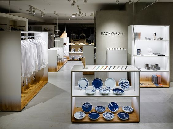 backyard by n for seibu sogo department stores in japan